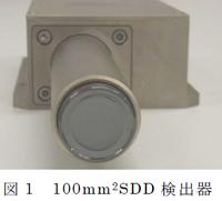 SDD検出器写真