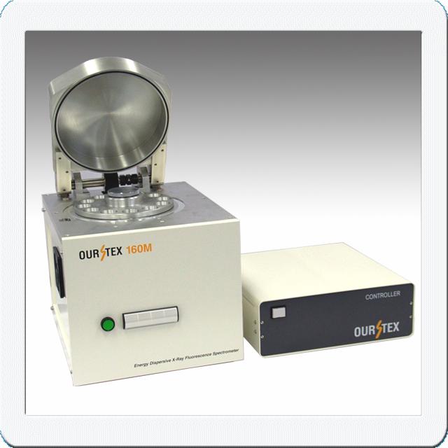 土壌汚染有害元素分析装置OURSTEX160mの写真